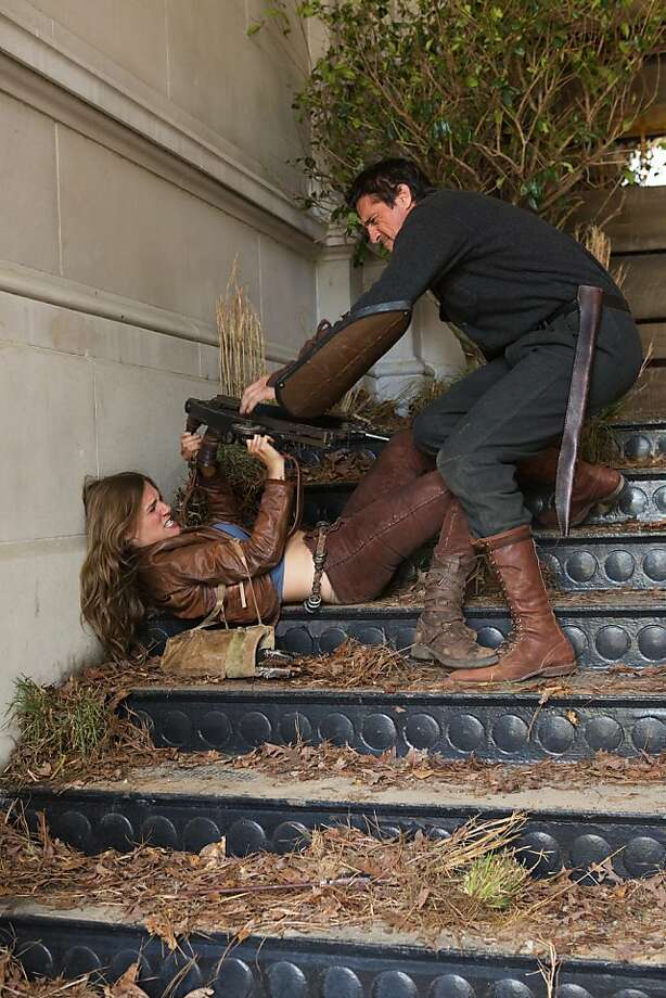 """Tracy Spiridakos plays Charlie, who's on a mission to find her uncle, in """"Revolution."""" Photo: Bob Mahoney, NBC"""