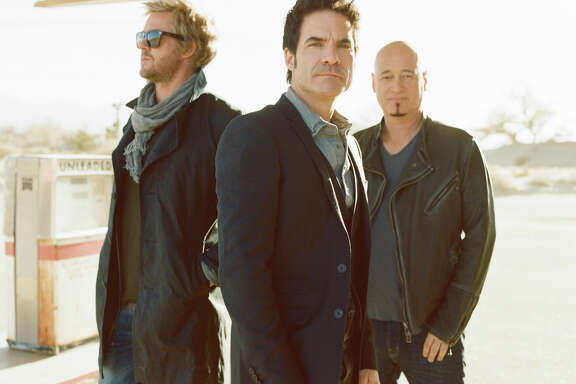 Train is an American pop rock band from San Francisco, California, formed in 1994. The band currently consists of a core trio of Pat Monahan (vocals), Jimmy Stafford (guitar), and Scott Underwood (drums).