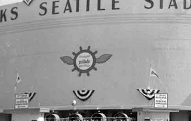 A recently discovered image from a Seattle Pilots game against the Chicago White Sox, April 1969. Photo: MOHAI/Seattle Post-Intelligencer Collection