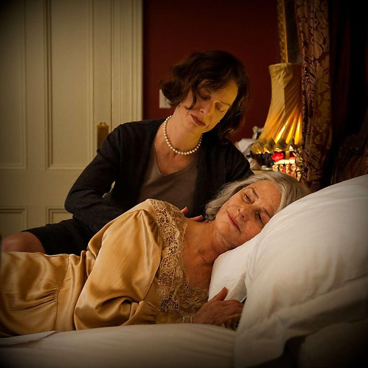 Judy Davis (top) and Charlotte Rampling star in,