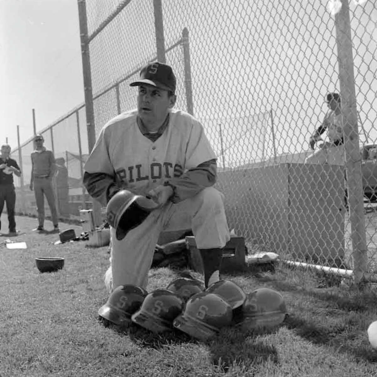 This 1969 picture from Tempe, Ariz., was taken at spring training for the Seattle Pilots, the city's first Major League baseball team. This collection of Pilots negatives was stored uncategorized in the P-I archive for decades and uncovered in summer 2012. The images - most of which were not previously published - were scanned by the Museum of History and Industry, which has preserved P-I negatives after several large donations since 1976. MOHAI's new South Lake Union location opens to the public Dec. 29.