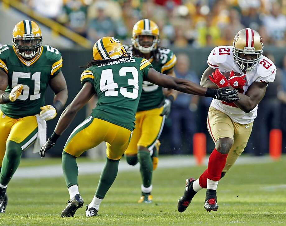 Frank Gore has gone 226 touches without fumbling during a six-game streak in which the 49ers have not committed a turnover. Photo: Mike Roemer, Associated Press