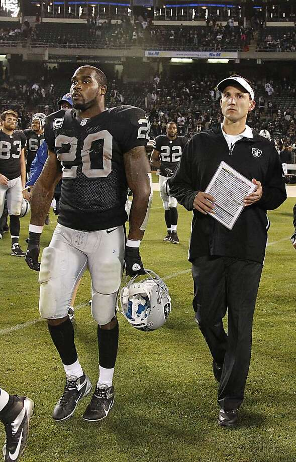 Darren McFadden was worked like a rented mule despite his history of injuries. Photo: Tony Avelar, Associated Press
