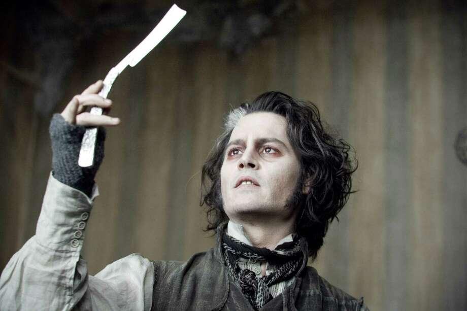 Sweeney Todd: The Demon Barber of Fleet Street -- Johnny Depp Photo: Leah Gallo / handout CD