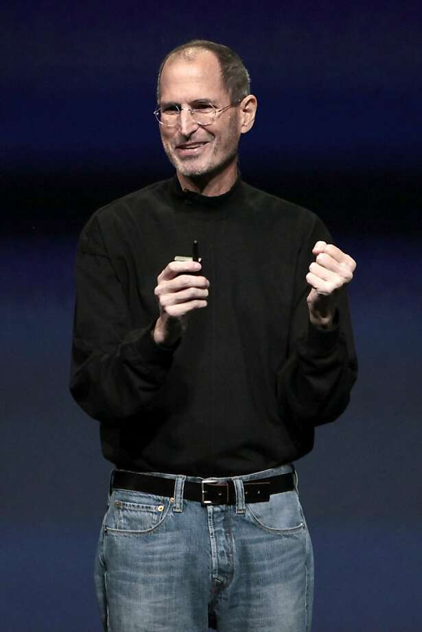 Steve Jobs oversaw a series of hit products for Apple before he died a year ago, but not everything he did was successful. Photo: David Paul Morris, Bloomberg