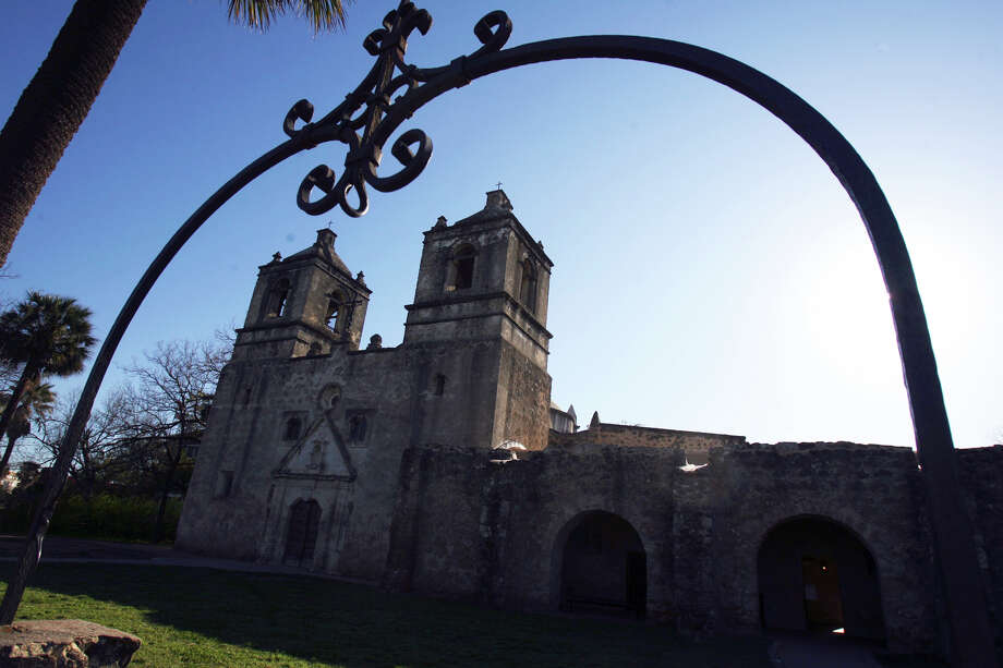 Mission Concepción is located at 807 Mission Road. Photo: John Davenport, Express-News / jdavenport@express-news.net