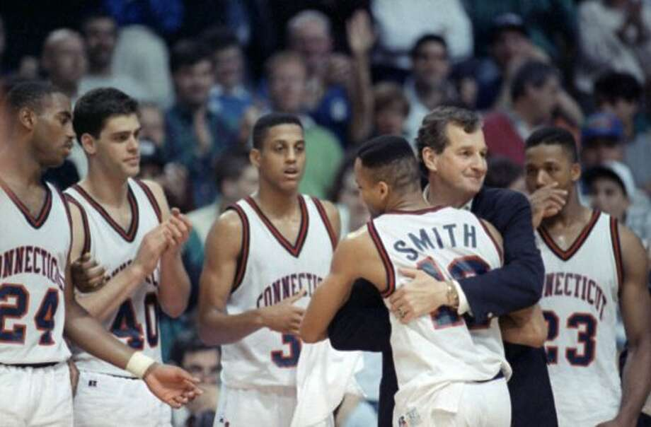 In 1988, the UConn men's basketball team took part in the National Invitation Tournament. UConn went on a run in the tournament and defeated Ohio State 72–67 at Madison Square Garden to win the NIT, the school's first national basketball title.
