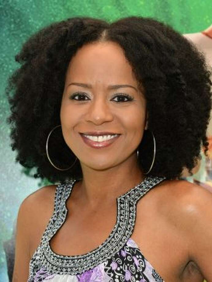 """Actress Tempest Bledsoe, who played Vanessa Huxtable, is now 39 and starring in the new fall NBC sitcom """"Guys With Kids."""" (Alberto E. Rodriguez / Getty Images)"""