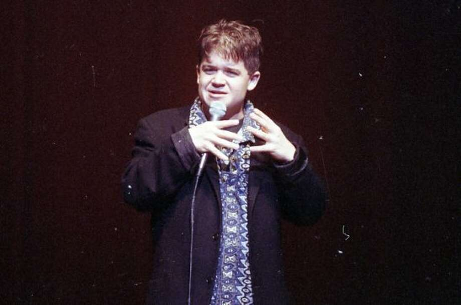 PATTON OSWALT (1993): Oswalt, 24, was the fourth runner-up in the 18th San Francisco International Comedy Competition -- Carlos Alazraqui won. Of all these comics featured here, he's changed the least. I see a little more Adam Rich in the 1993 Oswalt, but there's nothing embarrassing about this photo.  (Lea Suzuki / The Chronicle)