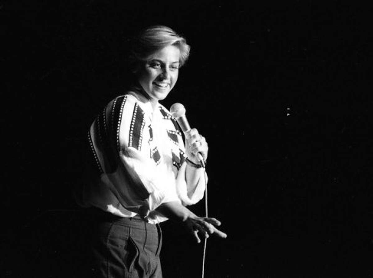 Ellen DeGeneres was rising to comedy fame in San Francisco clubs. Ellen, 27, in this photo, came in second in the 1985 competition, bested by another comic who became a 1990s sitcom fixture. (See the next slide.) DeGeneres spent a lot of time in San Francisco clubs - the Chronicle archives has a trove of her promo photos.