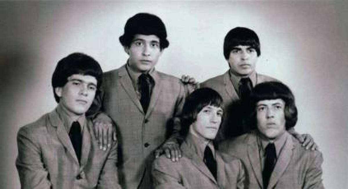 Johnny Perez (back row, right) seen in this undated photo was an original member of the Sir Douglas Quintet. Courtesy photo/South Texas Popular Culture Center