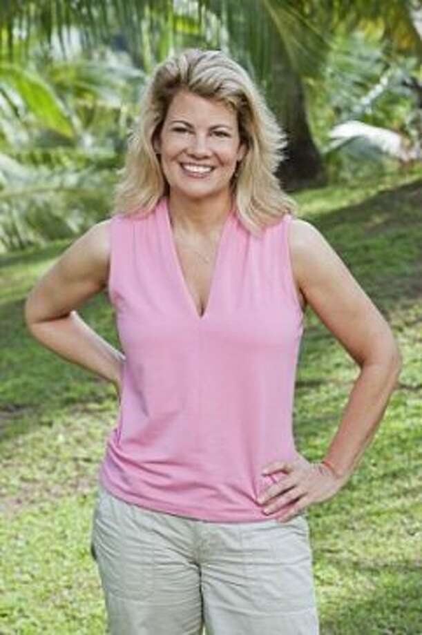 """Lisa Welchel became a Mouseketeer on """"The New Mickey Mouse"""" club when was she 12, but she's best known as Blair Warner on """"Facts."""" Now she is trying out her survival skills on the new season of """"Survivor."""" (Monty Brinton / ©2012 CBS Broadcasting Inc.)"""