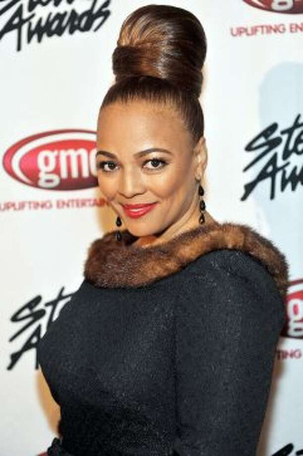 "Tootie Ramsey now. Here's Kim Fields in 2012. She was on the '90s sitcom ""Living Single"" and most recently had a part in ""What to Expect When You're Expecting."" (Moses Robinson / 2012 Getty Images)"