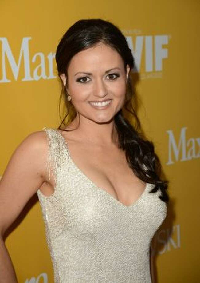 """Winnie Cooper now. Danica McKellar, now 37, currently devotes her time to getting girls into math. The UCLA math major is the author of """"Math Doesn't Suck,"""" """"Kiss My Math,"""" """"Hot X: Algebra Exposed!"""" and """"Girls Get Curves - Geometry Takes Shape."""" (Jason Merritt / 2012 Getty Images)"""