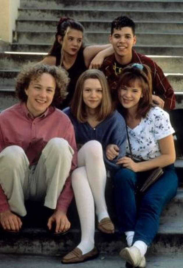 "The cult ABC drama ""My So-Called Life"" only lasted one season (1994-95), but we fell in love with Claire Dances and the rest of its young stars. From bottom left, Devon Gummersall,  A.J. Langer, Wilson Cruz, Devon Odessa and Claire Danes. (The Sundance Channel)"