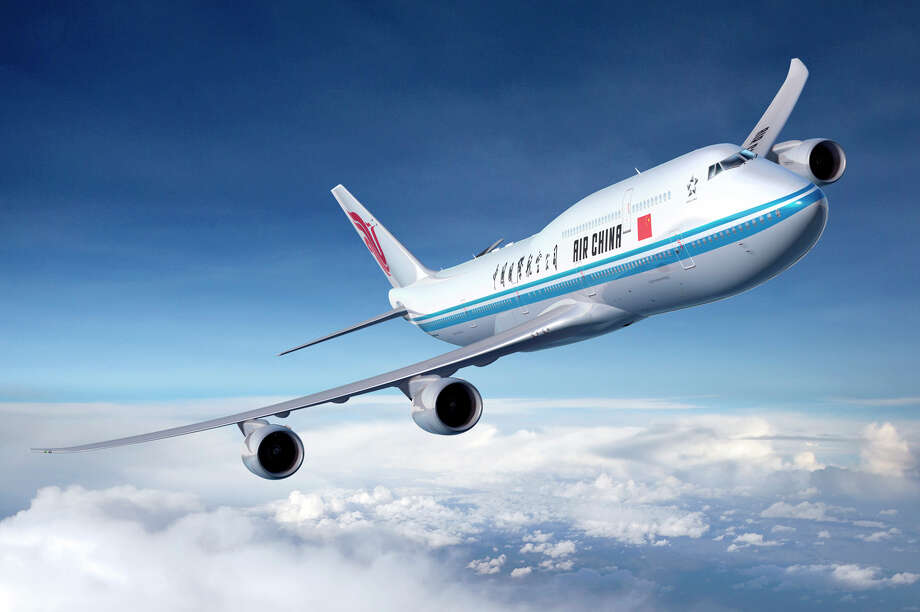 An artist's depiction of an Air China Boeing 747-8 Intercontinental. Photo: Ed Turner / The Boeing Company