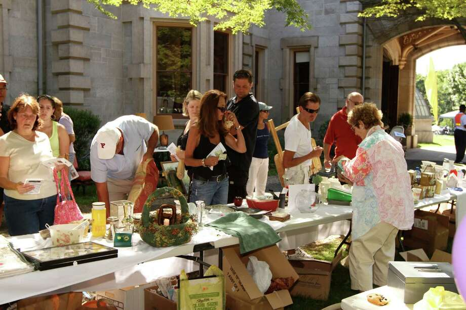 Lockwood-Mathews Mansion Museum will host its annual Old-Fashioned Flea Market Sept. 23. Photo: Contributed Photo