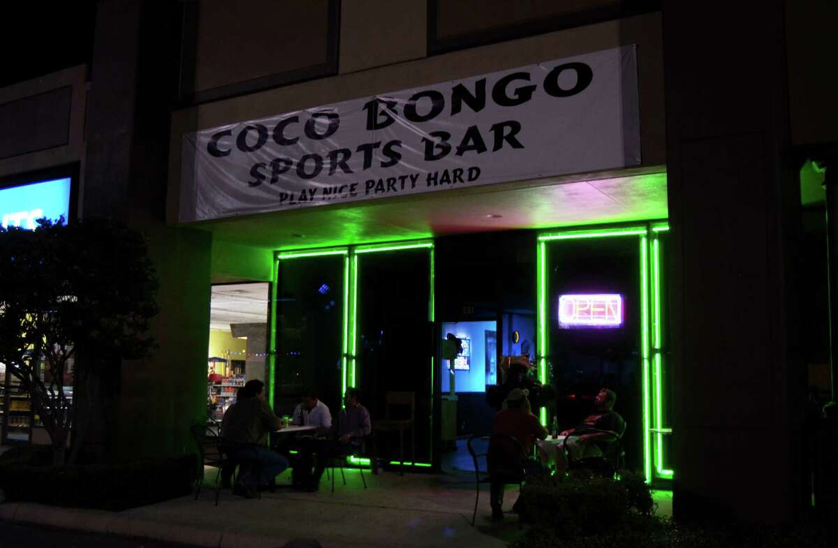 Coco Bongo is decked in a tropical vibe that includes a sand pit as well as a dancing gorilla, Bongo, who frequents the dance floor on weekends. Robin Johnson