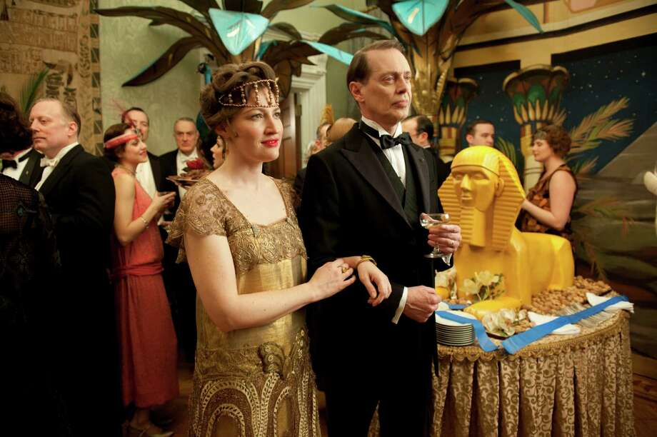 Atlantic City kingpin 'Nucky' Thompson (Steve Buscemi, right) and his Photo: HBO / San Antonio Express-News