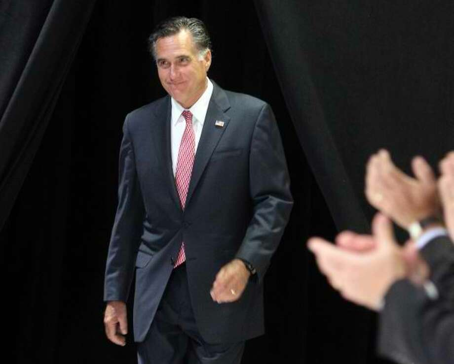 A campaign event in San Antonio (Express-News photo)