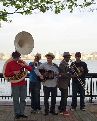 Howard Fishman and the Biting Fish Brass Band will be among the performers at the second annual ArtsFest at the Silvermine Arts Center in New Canaan, Conn. This free event, which will run from 2 to 4 p.m., Saturday, Sept. 15, 2012, at the arts center's 1037 Silvermine Road location, also will include puppet shows and hands-on activities. For more information, call 203-966-9700, Ext. 22, or visit www.silvermineart.org. Contributed photo/Nisha Sondhe Photo: Contributed Photo