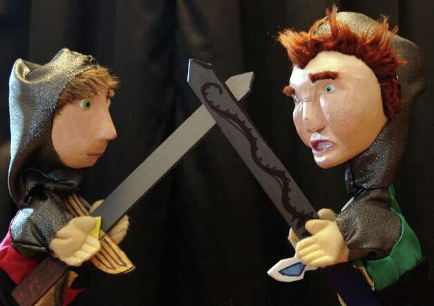 "The WonderSpark Puppets will be performing ""Kid Lancelot's Birthday Quest"" at the second annual ArtsFest at the Silvermine Arts Center in New Canaan, Conn. This free event, which will run from 2 to 4 p.m., Saturday, Sept. 15, 2012, at the arts center's 1037 Silvermine Road location, also will include music and hands-on activities. For more information, call 203-966-9700, Ext. 22, or visit www.silvermineart.org. Photo: Contributed Photo"