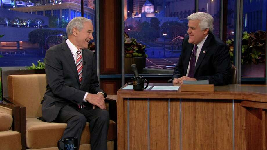 Ron Paul on the Tonight Show with Jay Leno