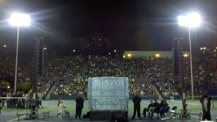 Ron Paul at UCLA Town Hall Meeting
