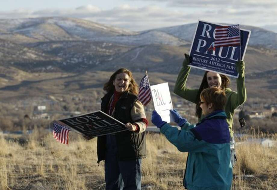 Ron Paul's supporters will climb mountains for him.