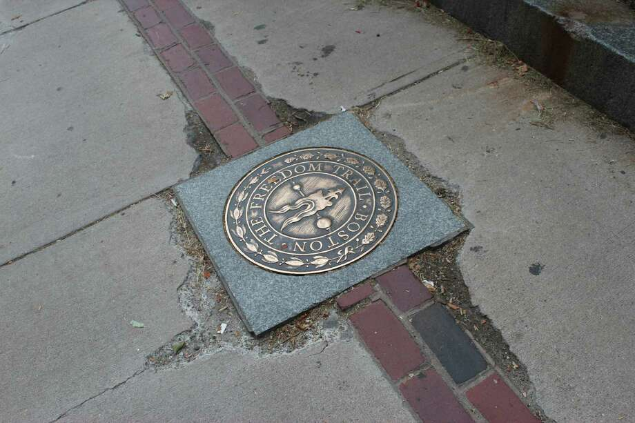 The Freedom Trail, appropriately named for my purposes, is a 2.5-mile ramble through 16 historical sites that tell the story of the American Revolution in Boston. There?s actually a brick trail (or painted red line). Most of the sites are free, but some do charge admission fees. (By Donna Liquori)