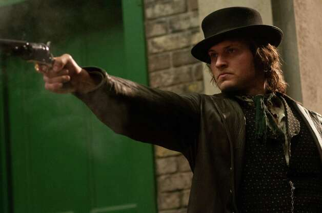 "This image released by BBC America shows actor Tom Weston-Jones as Detective Kevin Corcoran in a scene from ""Copper.""  Set in 1864 New York City, ""Copper"" centers on Kevin Corcoran, an Irish-immigrant cop who has returned from the war to find his world turned upside down. His daughter has been murdered and his wife has vanished. Corcoran sets about to find his daughter's killer and his missing wife while policing this notoriously lawless patch of town. The series premiers Sunday at 10 p.m. EDT. (AP Photo/BBC America, George Kraychyk) Photo: George Kraychyk / BBC America"