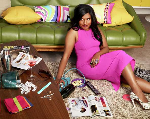 "THE MINDY PROJECT: Created by Emmy-nominated writer/producer and New York Times best-selling author Mindy Kaling (""The Office""), THE MINDY PROJECT features Kaling as a skilled OB/GYN navigating the tricky waters of both her personal and professional life, as she pursues her dreams of becoming the perfect woman, finding the perfect man and getting her perfect romantic comedy ending in the new comedy THE MINDY PROJECT premiering Tuesday, Sept. 25 (9:30-10:00 PM ET/PT) on FOX.  Fox Broadcasting Co. Cr: Autumn De Wilde/FOX / 1"