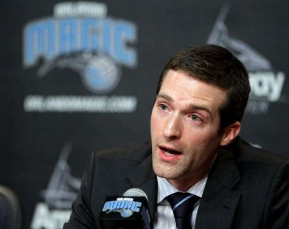 Rob Hennigan, Magic: Basketball operations assistant, 2004-08 (Associated Press)