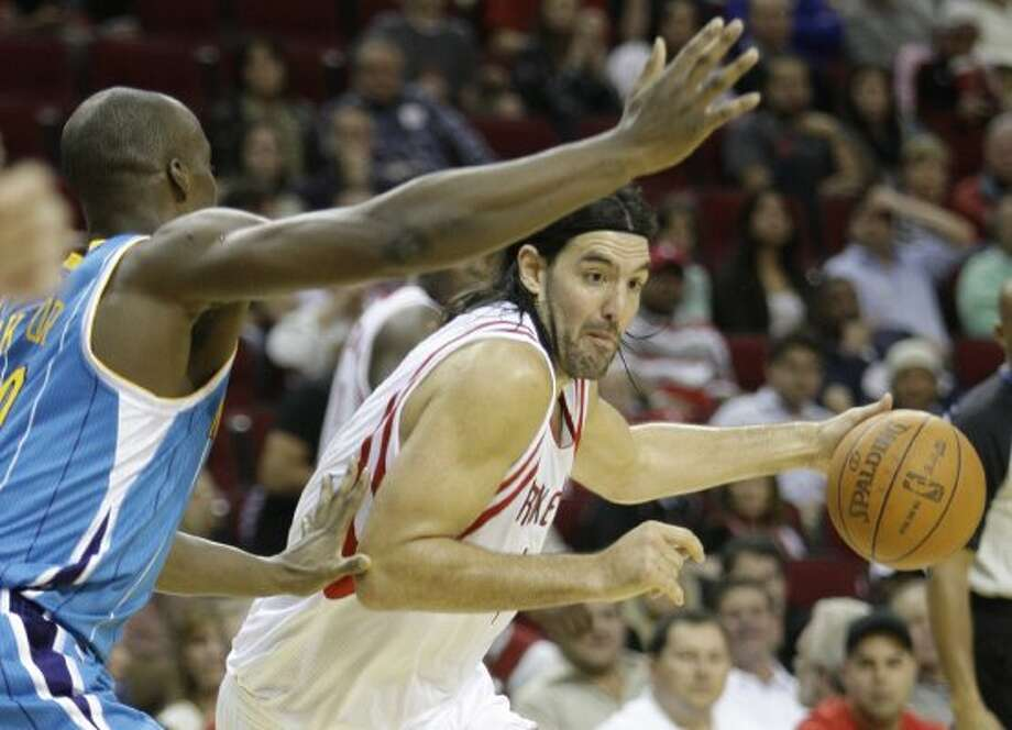 July 13:The Rockets waive forward Luis Scola, using the amnesty clause. Scola was claimed off waivers by the Phoenix Suns. (Melissa Phillip / Houston Chronicle)