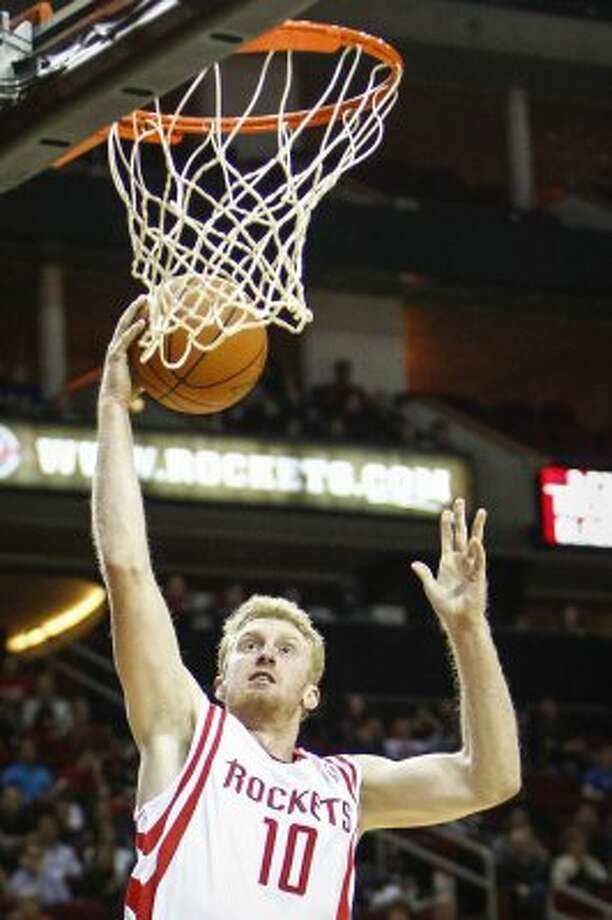 June 26: The Rockets trade forward Chase Budinger and the draft rights to Israeli forward Lior Eliyahu to the Minnesota Timberwolves in exchange for the No. 18 overall pick in the 2012 draft. (Michael Paulsen / Houston Chronicle)