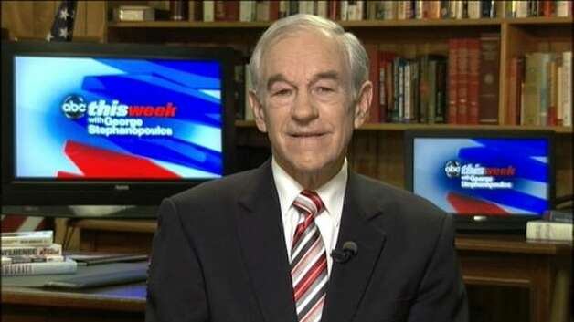 "Ron Paul appears on ABC's ""This Week."""