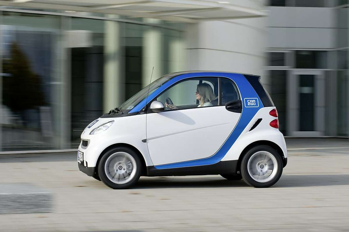 Daimler's all electric Car2Go is hoping to bring it's car sharing service to San Francisco.