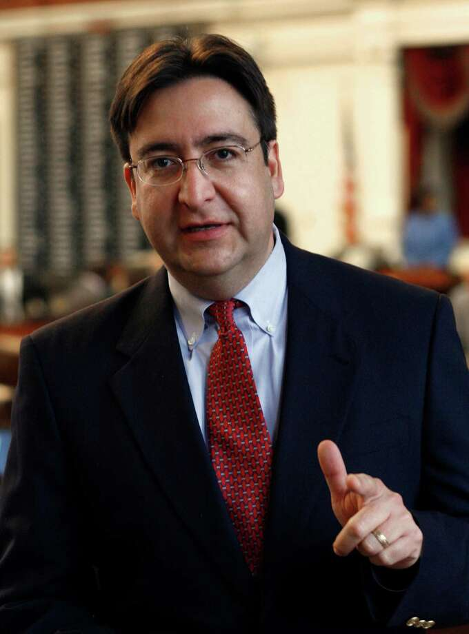 State Rep. Pete Gallego, D-Alpine, is shown during the session in the Texas House of Representatives Friday, Jan. 12, 2007, in Austin, Texas. Gallego connected with former Gov. George W. Bush on border issues despite being a Democrat. Photo: HARRY CABLUCK, AP / AP