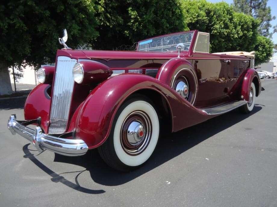 1937 Packard Super 8 Convertible