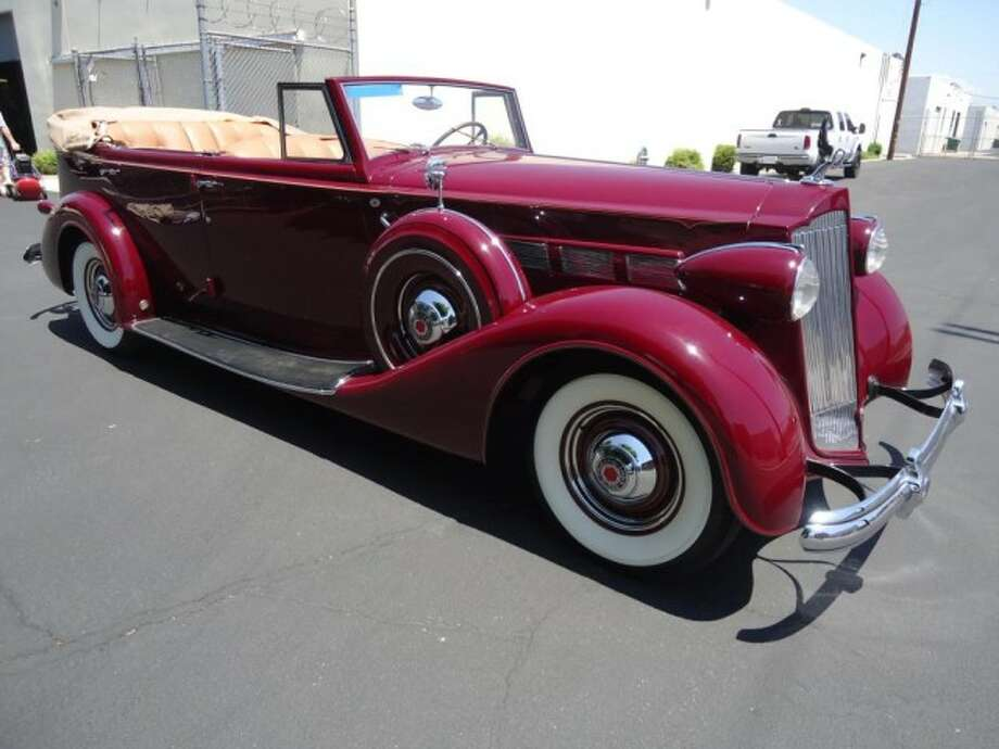 1937 Packard Super 8 Convertible