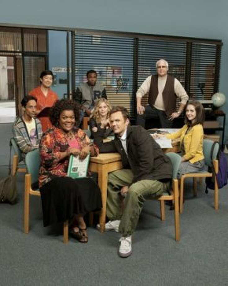 "Can't get enough: ""Community."" Yep, this is about how we remember community college."