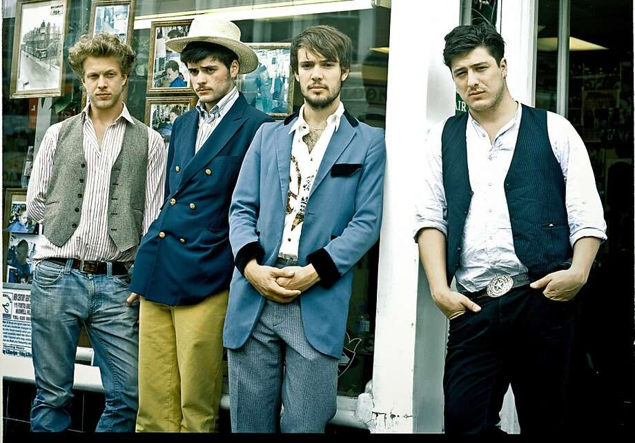 Mumford and Sons. Photo: Glass Note