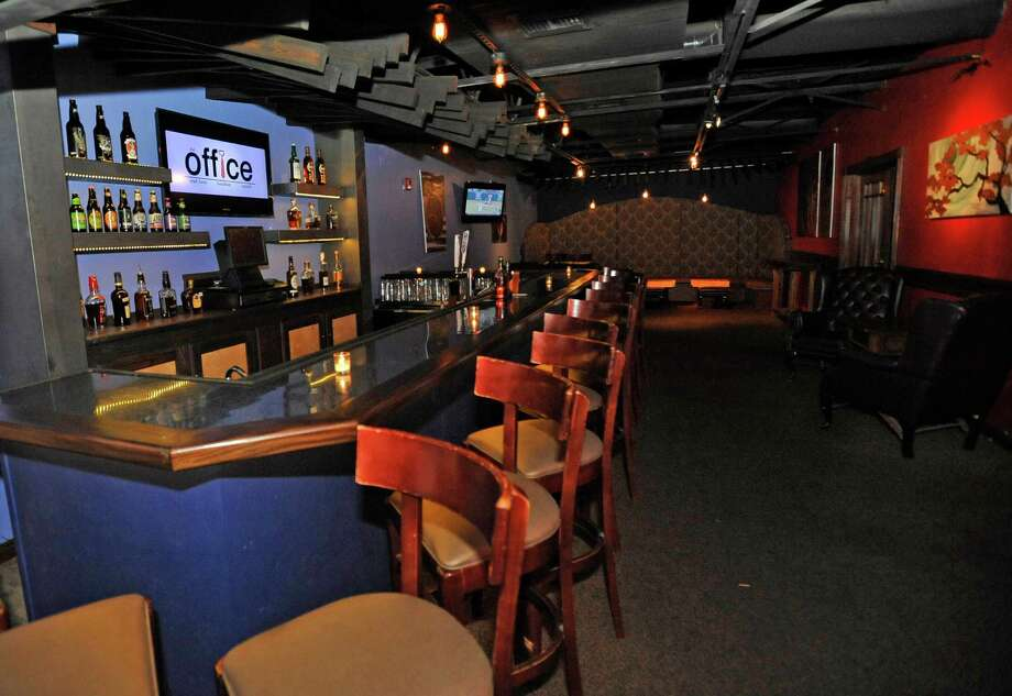 The Office, a new craft beer and bourbon bar on the second floor of Madison's is the August bar of the week Dave Ryan/The Enterprise Photo: Dave Ryan
