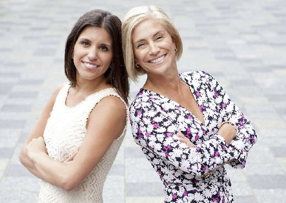 Darien residents Stephanie Bruno, left, and her mother, Susan, co-founded DivaCFO, a financial consulting business geared toward women. Photo: Contributed Photo