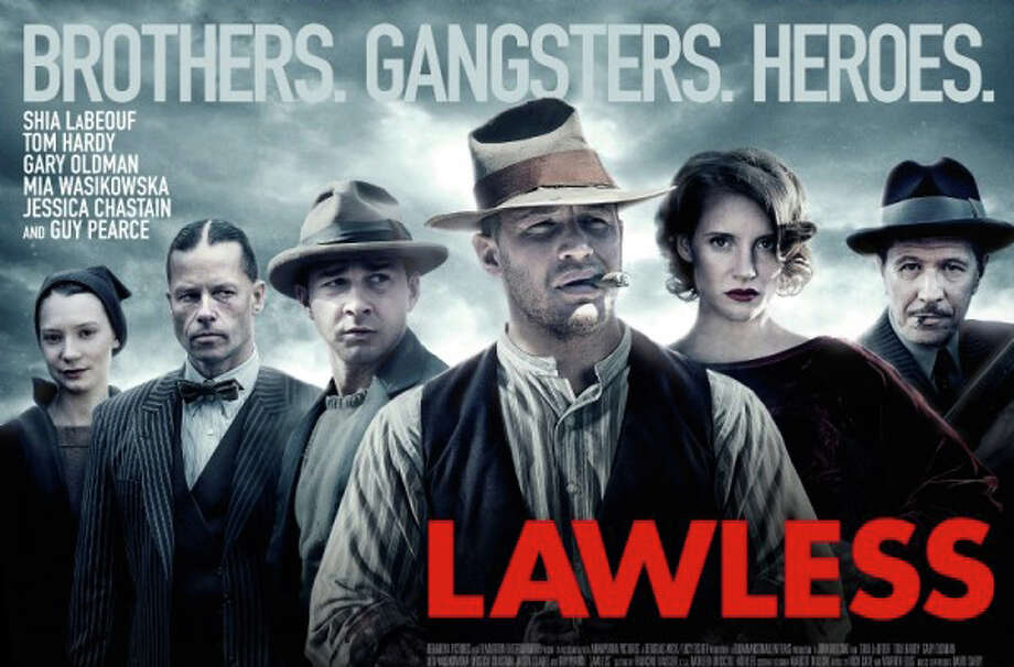 "The new movie, ""Lawless,"" is playing area theaters. Photo: Contributed Photo / Westport News contributed"