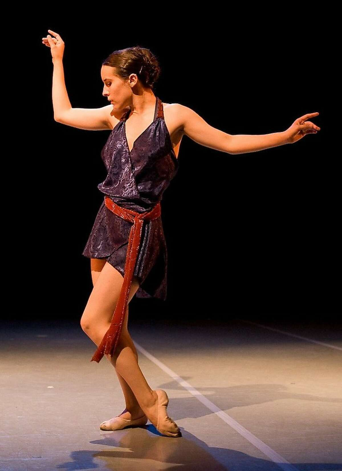 Leda Pennell of the DanceWright Project in Jamie Ray Wright's