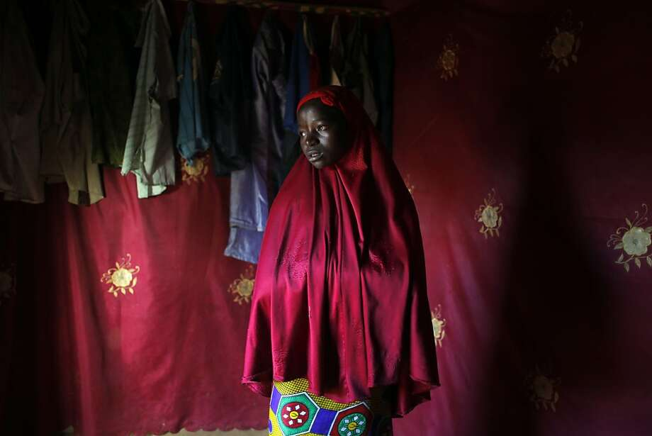 Rama, 14, was married last year. She blames the poverty in her village and the poor harvest. Photo: Jerome Delay, Associated Press