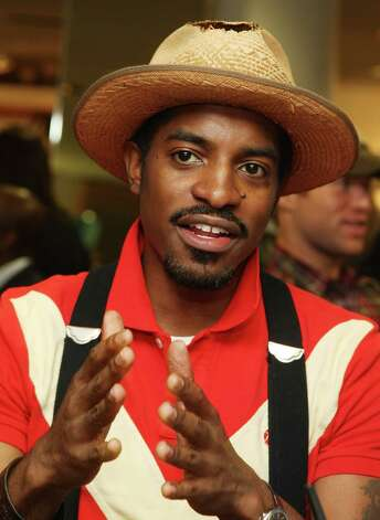 Designer/actor/singer Andre Benjamin, also known as Outkast's Andre 3000, was voted as one of PETA's sexiest vegetarian celebrities in 2004. Photo: Stephen Lovekin, Getty Images / 2008 Getty Images
