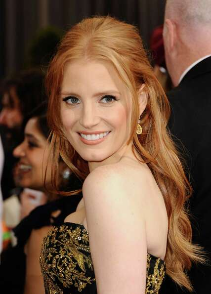 Actress Jessica Chastain, who recently starred in The Help and Tree of Life, is a vegan.