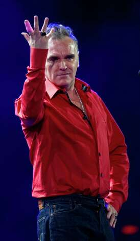 Former Smiths frontman and singer Morrissey has been a vegetarian since he was 11 or 12 years old. Photo: MARTIN BERNETTI, AFP/Getty Images / 2012 AFP